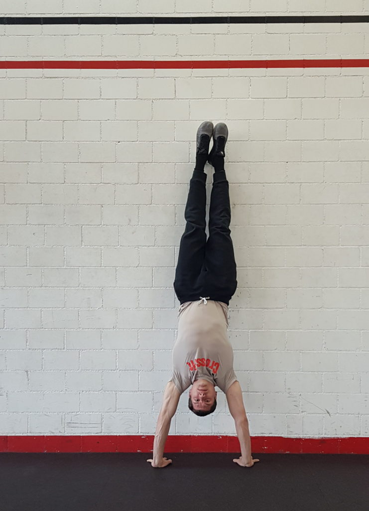 Wide Handstand Hold